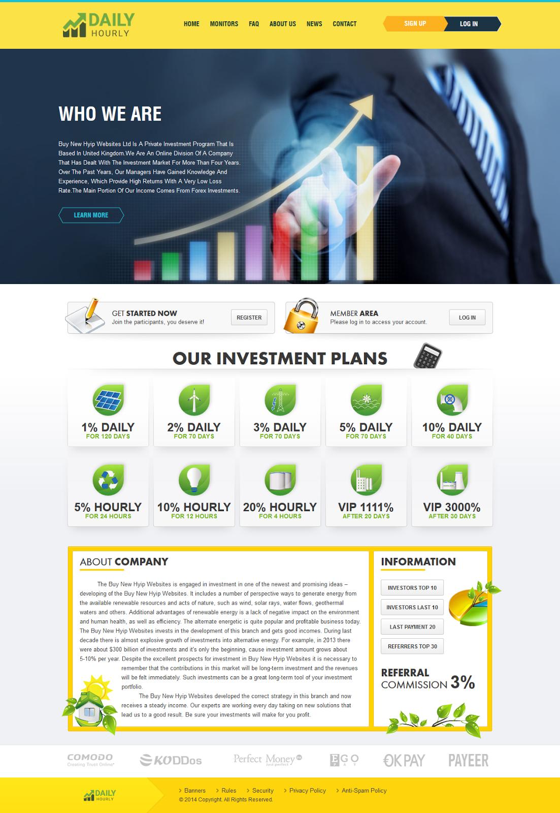 Buy Hyip Site | Hyipssl